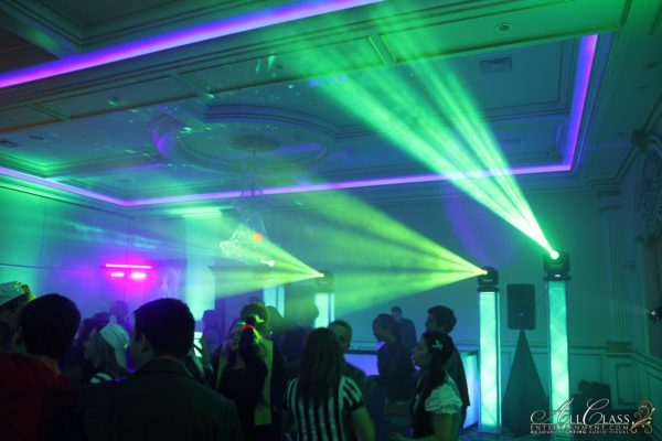 PALACIO CATERING & CONFERENCE CENTER, GOSHEN NY – PARTY LIGHTING