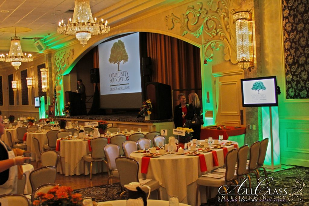 AV, SOUND & LIGHTING FOR COMMUNITY FOUNDATION OF ORANGE AND SULLIVAN'S ANNUAL RECEPTION