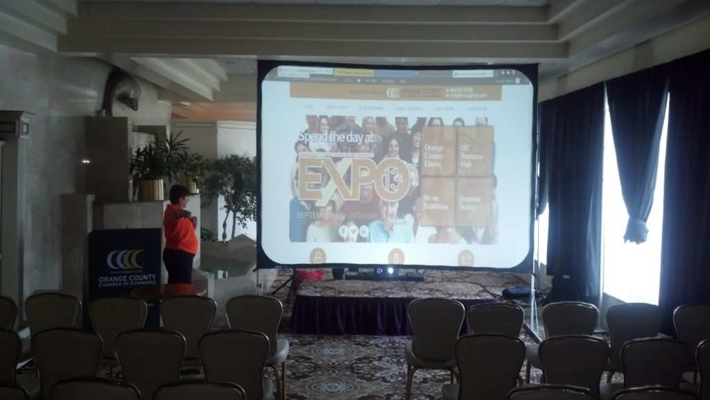 A/V FOR ORANGE COUNTY CHAMBER OF COMMERCE EXPO