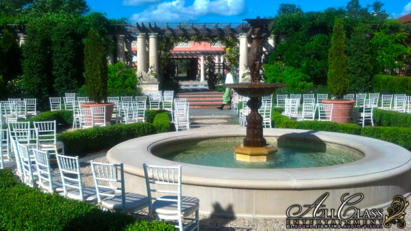 GLENMERE MANSION – CHESTER, NY – ELEGANT WEDDING LIGHTING & SOUND WITH ALL CLASS ENTERTAINMENT