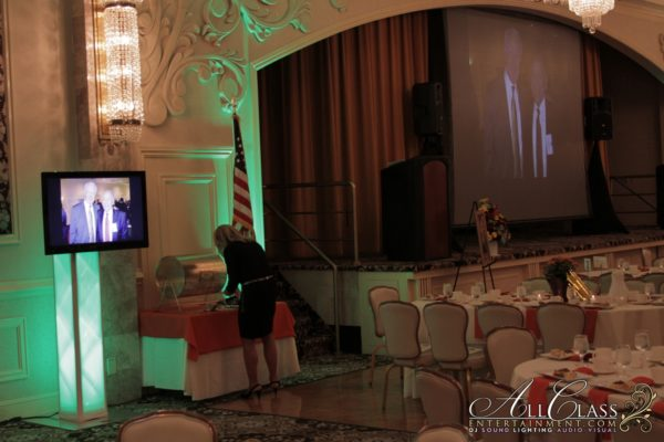 A/V, SOUND & LIGHTING FOR COMMUNITY FOUNDATION OF ORANGE AND SULLIVAN'S ANNUAL RECEPTION
